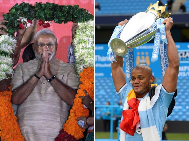 Narendra Modi has 'Kompany' on Twitter