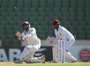 Nasir Hossain's 96 give Bangladesh lead in first Test