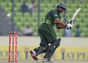 Pakistan opener Jamshed out of Sri Lanka tour