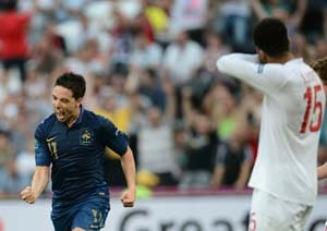 Euro 2012: France, England play out 1-1 draw