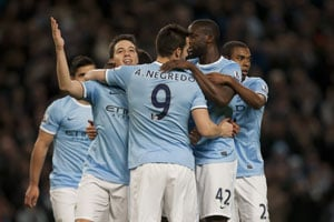 EPL: Samir Nasri scores twice in Manchester City
