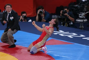 London 2012 Wrestling: Russia's Natalia Vorobieva wins women's 72kg gold