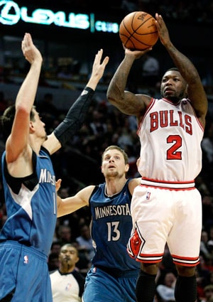 Nate Robinson sparks Chicago Bulls to win over Minnesota Timberwolves