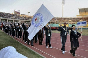 National Games begins with a colourful opening ceremony