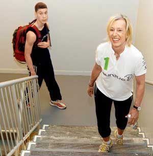Martina Navratilova in Mumbai to deliver corporate lecture