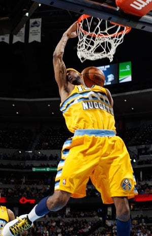 Denver Nuggets send Charlotte Bobcats to 15th straight loss