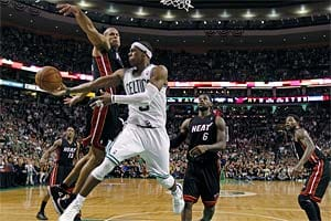 Celtics beat Heat 93-91 in overtime, tie series at 2-2