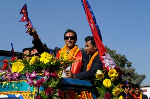 Nepal's T20 heroes get huge welcome at home