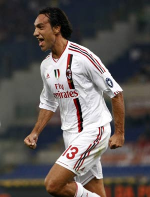 Thigh injury rules Nesta out for a month