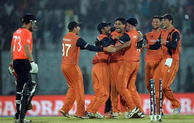 World Twenty20, Highlights: Netherlands rewrite history, beat England by 45 runs