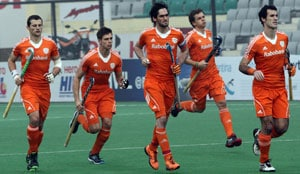 Hockey World League: Netherlands knock out Olympic champions Germany to reach semis