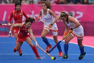 The Netherlands beats Japan 3-2 in Olympic hockey