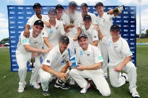 Ross Taylor, seamers lead New Zealand to series win over West Indies