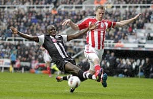 Newcastle up to fourth as Stoke outclassed