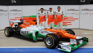 Sahara Force India unveil VJM05