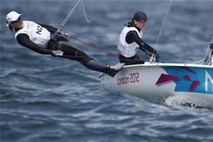 Kiwis get Olympic sailing gold in women's 470