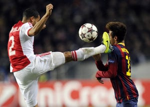 UEFA Champions League: Ajax stun Barcelona to end unbeaten run