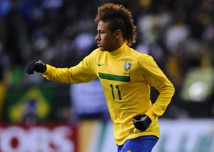 I'm no Pele, says Neymar