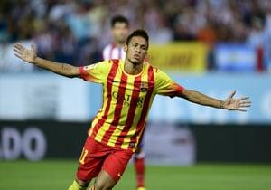 Neymar back in training for Barcelona
