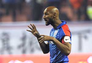 Chinese challenge is Anelka's biggest