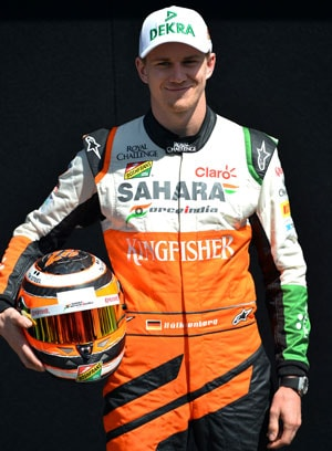 Australian Grand Prix: Force India's Nico Hulkenberg 7th fastest in qualifying
