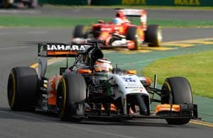Seventh is a positive start: Nico Hulkenberg after Australian GP