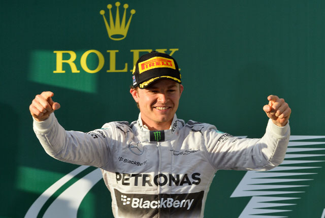 Nico Rosberg edges Lewis Hamilton for Bahrain Grand Prix pole