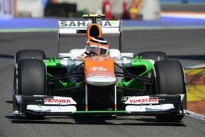 Force India delivers season's best finish