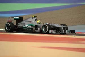 Rosberg fastest in 2nd practice for Bahrain GP