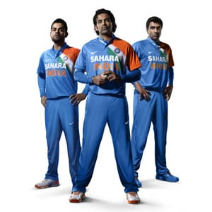 New T20 look: Tricolour on the heart for Team India