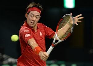 Davis Cup: Kei Nishikori helps Japan to 2-1 lead over Canada