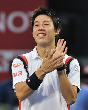 Kei Nishikori Becomes First Japanese Man to Break Into the ATP Rankings Top 10