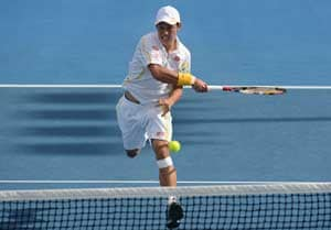 Kei Nishikori keeps on winning in Australia