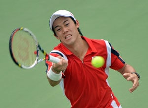 Local hero Kei Nishikori crashes out of Japan Open