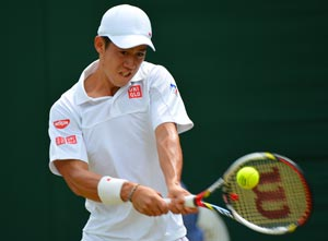Wimbledon 2012: Nishikori ends Japan