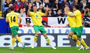 Norwich beat Swansea 3-1