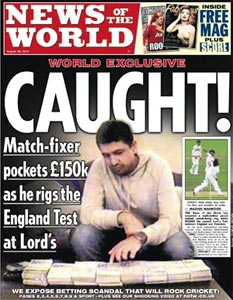Sports cheats relax! News of the World is no more