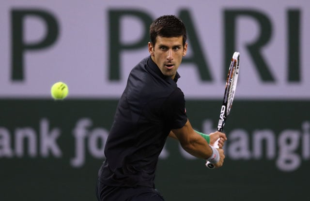 Novak Djokovic safely through to third round at Indian Wells