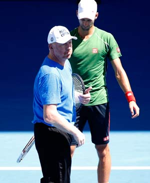 Novak Djokovic backs Boris Becker despite Australian Open shocker