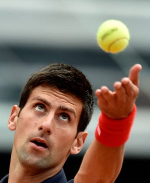 Novak Djokovic Returns From Injury With Win in Rome