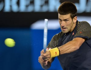 Novak Djokovic dazzles in straight-sets win over Ryan Harrison