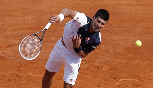 Novak Djokovic joins Roger Federer, Rafael Nadal in quarterfinal of Monte Carlo Masters
