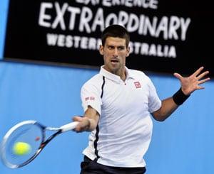 Hopman Cup: Novak Djokovic fires as Jo-Wilfried Tsonga is injured