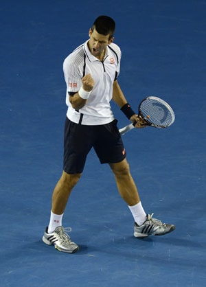 Novak Djokovic beats Tomas Berdych in four sets to reach Australian Open semis