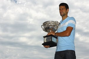 Djokovic wants to be King of Queen's