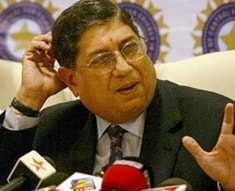 Under-pressure BCCI president N. Srinivasan says media is hounding him
