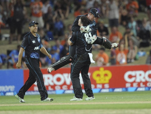 India vs New Zealand highlights: Hosts prevail in 1st ODI to beat India by 24 runs