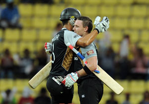 World Twenty20: Sri Lanka beat New Zealand in a thrilling Super Over
