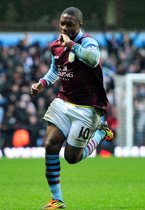 EPL: N'Zogbia downs West Ham to boost Aston Villa's survival bid