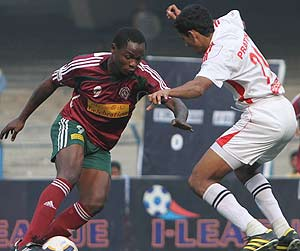 Mohun Bagan ground Air India 3-1 in I-League